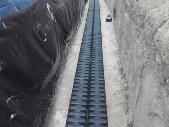 Furukawa Electric - EFLEX Square cable duct installed in Kenya