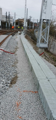 An example of Green Trough's flexibility at an installation in Norway.
